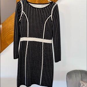 Calvin Klein bodycon sweater dress